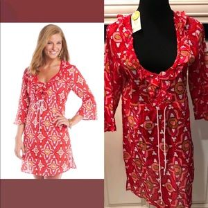 Mudpie NWT Anna bell tunic pink Moroccan  S